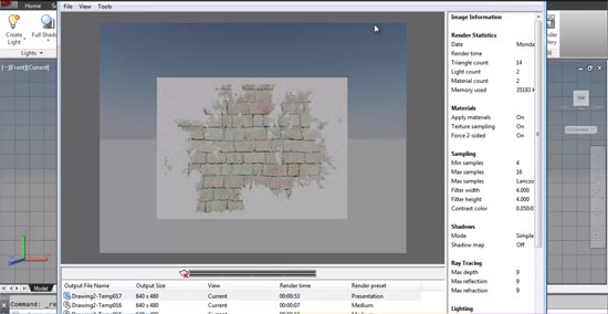 Learn to produce 3d broken wall in AutoCAD