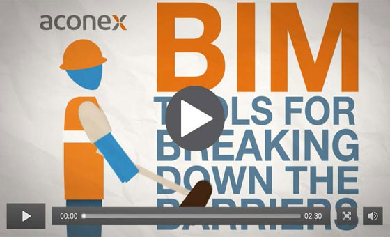 Aconex Connected BIM can manage BIM data and process for project-wide collaboration