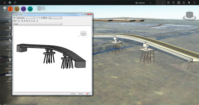 Some new and advanced features are included with InfraWorks and AutoCAD Civil 3D
