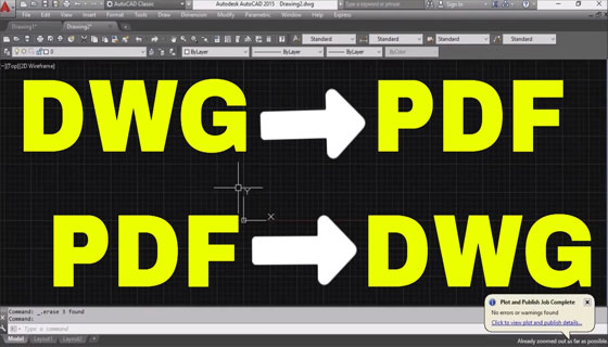 Some leading software to convert AutoCAD files to PDF formats