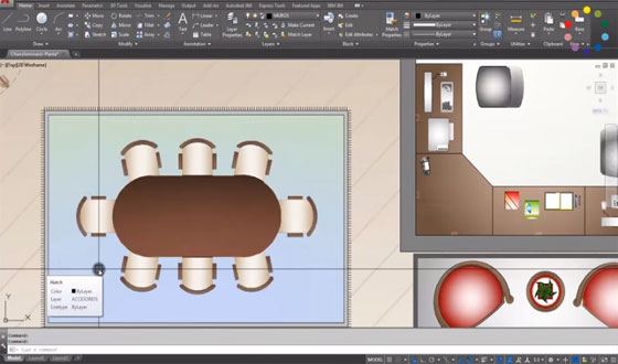 How to use hatchtoback command in AutoCad