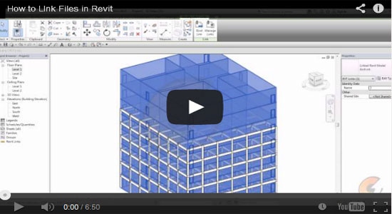 How to link files in Revit Architecture