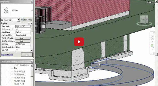 Parking Garage Ramps Using Floors in Revit Architecture