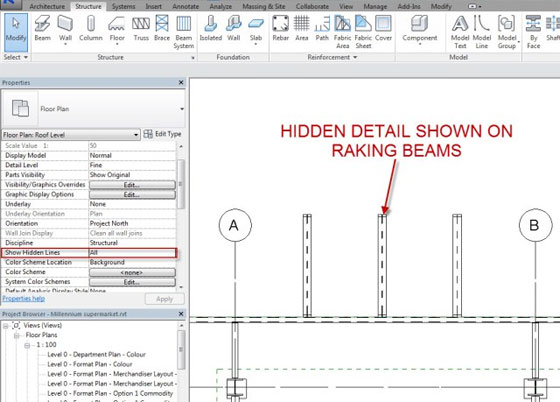 Revit 2015 - Hidden Detail Control