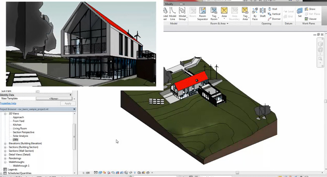 Explore the new features in Revit 2017 for improved architectural design