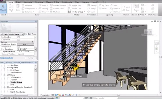Revit Architecture Creating 3D Views