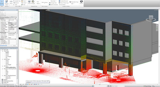 Creating 3D Model from Scan to BIM