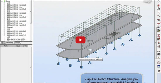 Structural Analysis for Revit with BIM model
